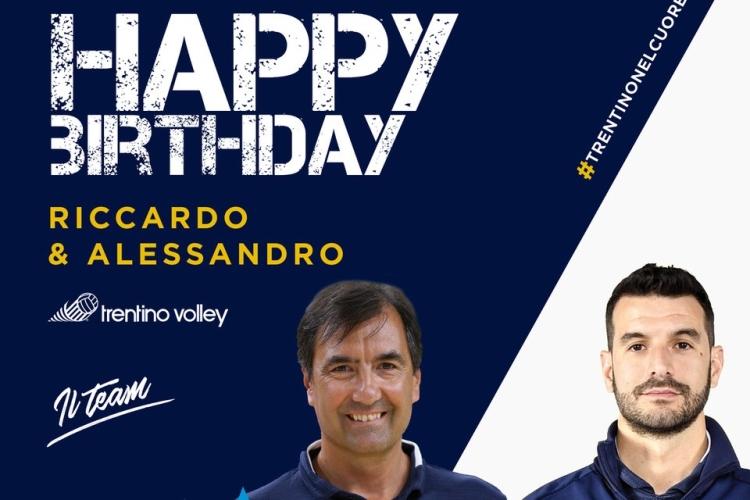 Buon Compleanno A Riccardo Michieletto E Alessandro Russo